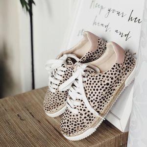Leopard Espadrilles Sneakers